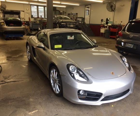 Gray Porsche (2)