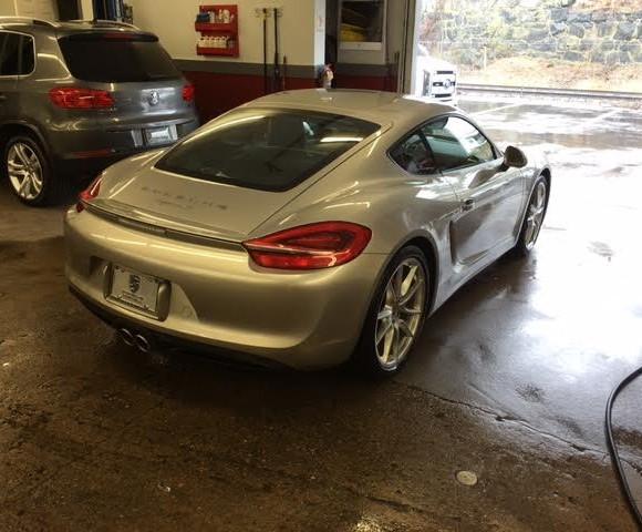 Gray Porsche