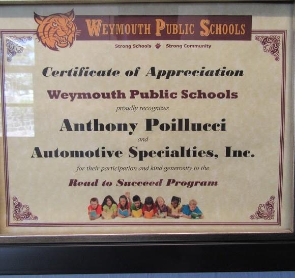 Weymouth Public Schools