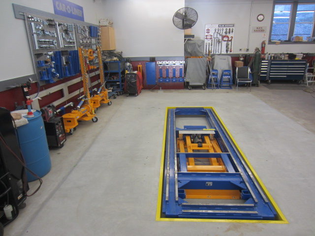 Automotive Specialties Inc Collision Center Frame2