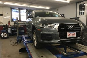 Grey Audi Auto Repair