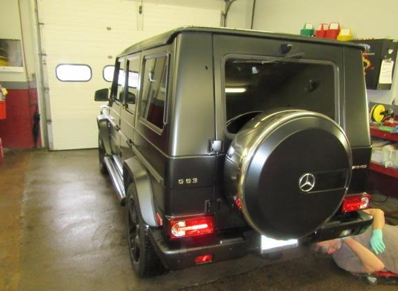 Mercedes G63 Repair work
