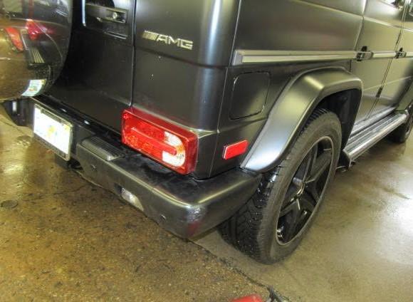 Mercedes G68 bumper