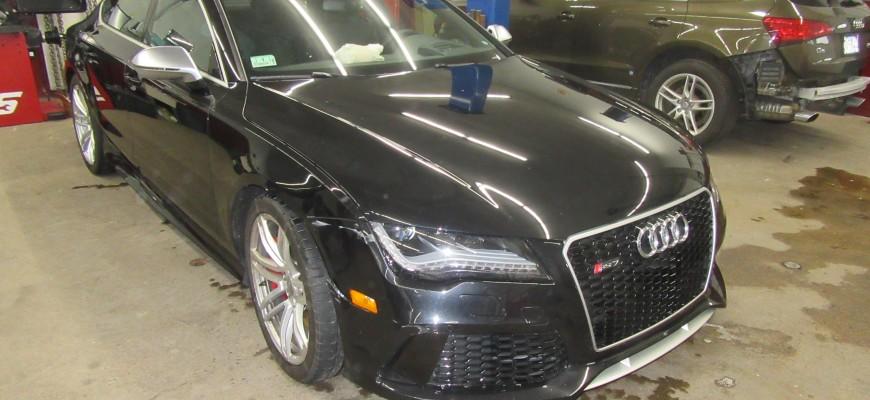 Audi Repair Job
