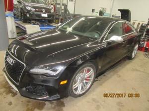 Audi Front End Repair