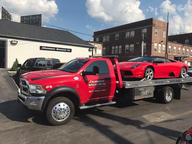 Lamborghini Murcielago Repair Ma Automotive Specialties Inc