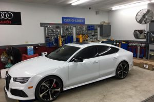 audi in certified repair facility