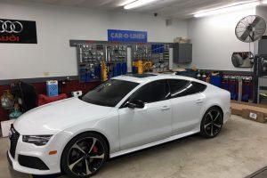 audi in certified repair facility
